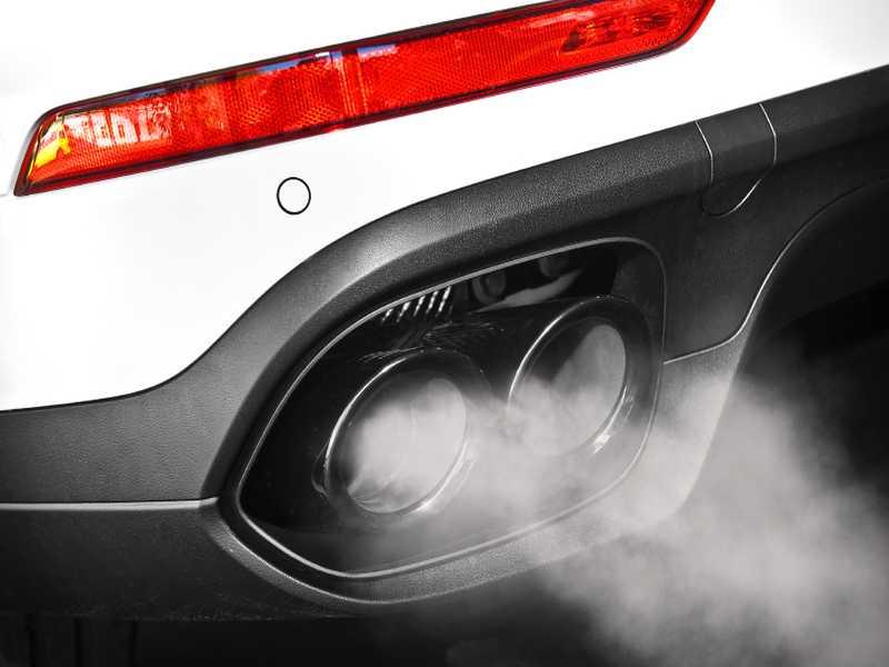 Umweltsünder Auto